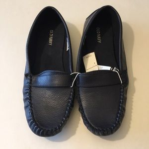 """New Navy """"Driving"""" Loafers"""
